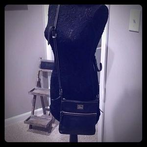 Dooney & Bourke Black Leather Crossbody
